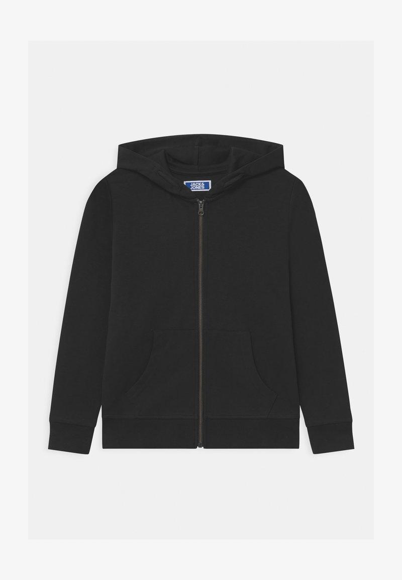 Jack & Jones Junior - JJEBASIC ZIP HOOD  - Zip-up hoodie - black
