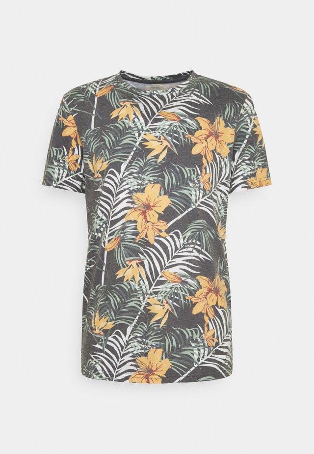 RAUL TEE - Camiseta estampada - black