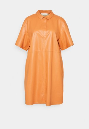 CHARLOTTE DRESS - Shirt dress - orange