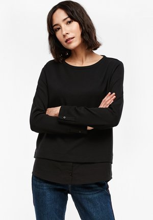 LANGARM - Sweatshirt - black