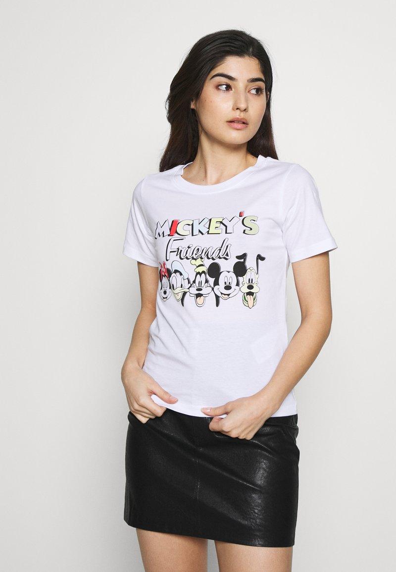 ONLY Petite - ONLDISNEY MIX - Camiseta estampada - white