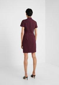 HUGO - KABECCI - Shift dress - medium red - 2