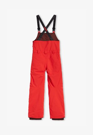 Snow pants - fiery red