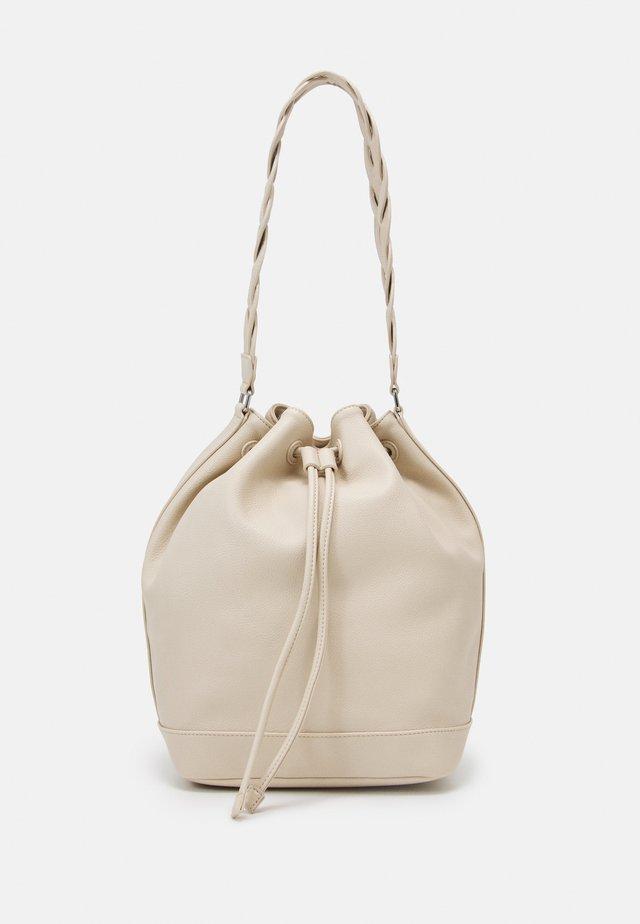 BUCKET - Handbag - bianco avorio