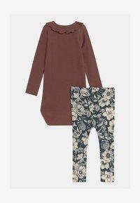 Name it - NBFRYLVA/NBFRANDI  - Pyjamashirt - maroon - 0