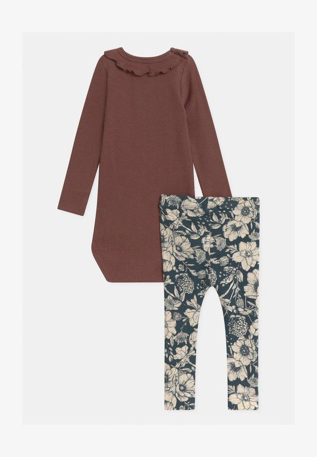 NBFRYLVA/NBFRANDI  - Nattøj trøjer - maroon