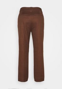 J.CREW - SOLID ANDERSON PANT - Trousers - dark twig - 1