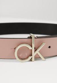 Calvin Klein - LOGO BELT - Belt - pink - 3
