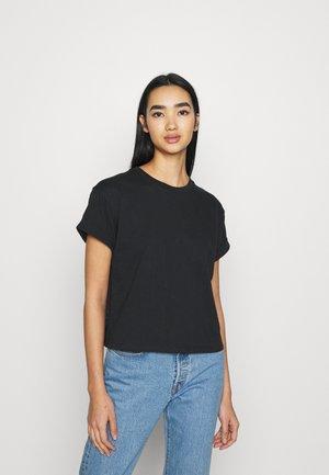 LOLA - T-shirt print - caviar