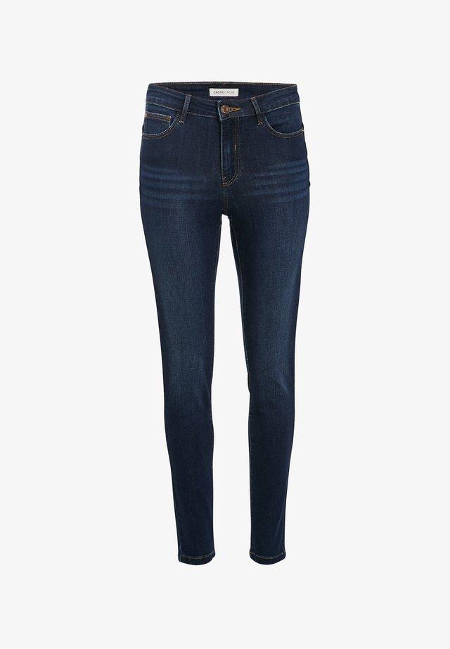 SKINNY  PUSH UP - Jeans Skinny Fit - denim stone