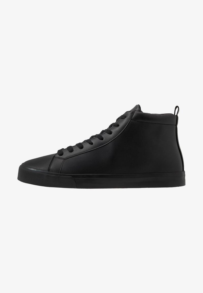 Pier One - Vysoké tenisky - black