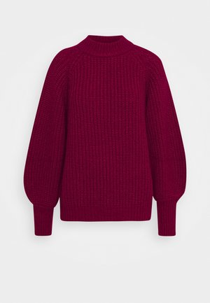 FELIPPA MILLIE - Jumper - brown bordeaux