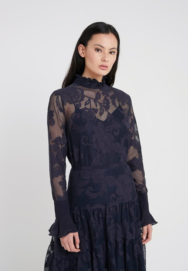 Blouse - ink navy