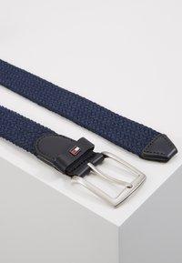 Tommy Hilfiger - DENTON  - Braided belt - blue - 2