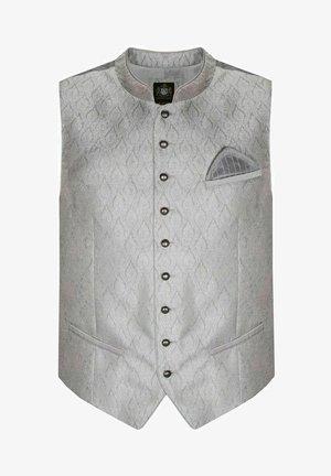 TRACHTEN OLIVER IN SILBER VON - Suit waistcoat - silber