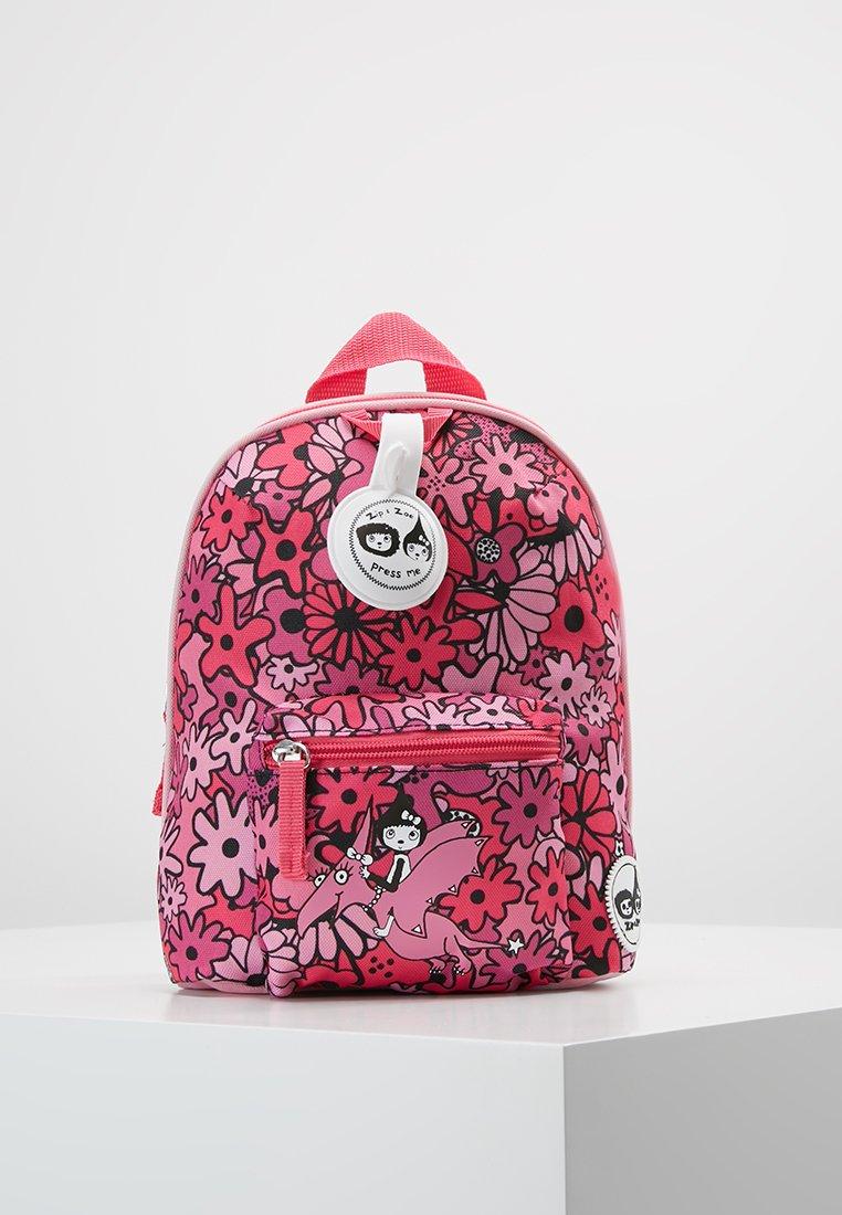Zip and Zoe - MINI BACKPACK - Reppu - floral pink