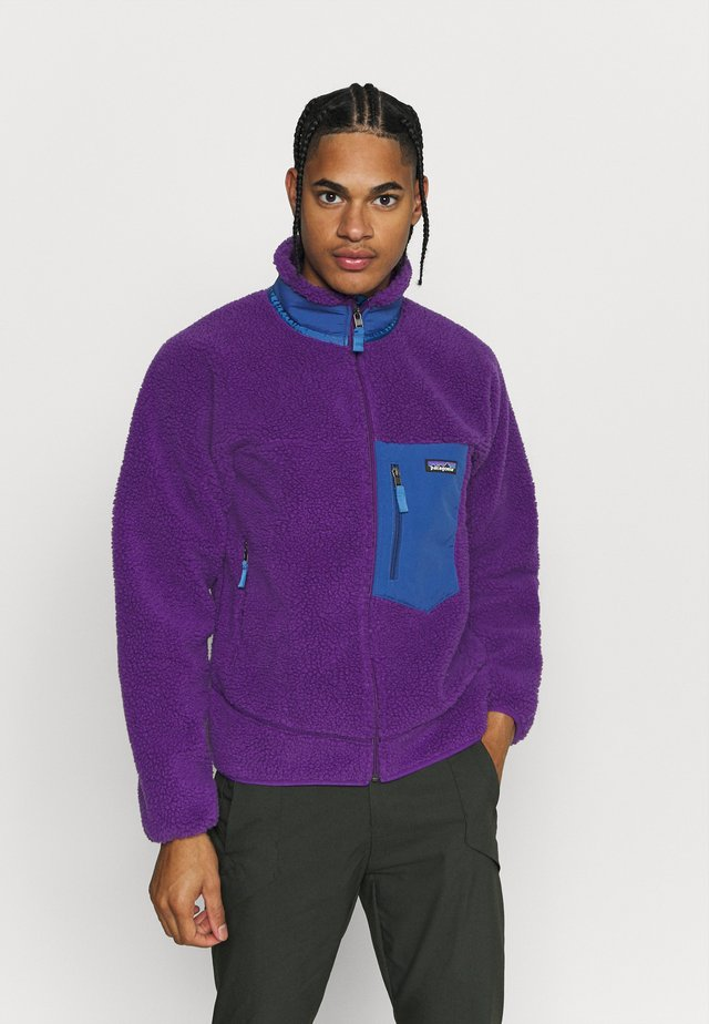CLASSIC RETRO - Fleecejacke - purple
