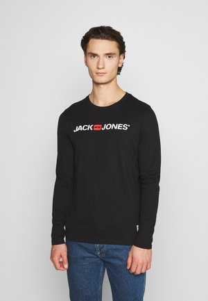 JOR30HISTORY CREW NECK - Long sleeved top - black/white