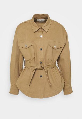 BAKI - Denim jacket - camel