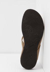 Scholl - TISTOIS - Sandalias de dedo - kaki - 6
