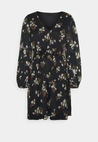 Vero Moda - VMFRAYA V NECK BALLOON DRESS - Shirt dress - black - 5