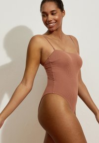 OYSHO - Swimsuit - brown - 2