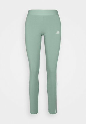 Leggings - haze green/white