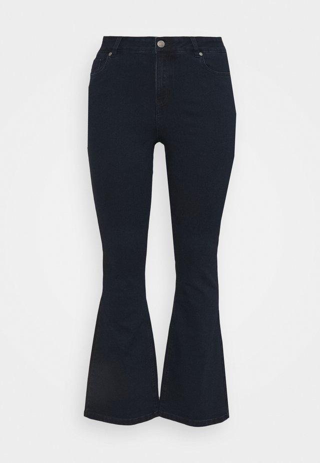 KIM HIGH WAIST SUPER SOFT  - Jeans bootcut - dark indigo