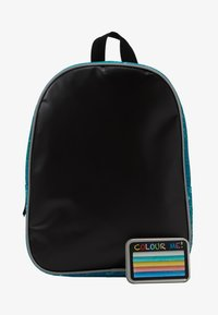 Fabrizio - FABRIZIO KIDS DRAW YOURSELF BACKPACK WITH CRAYON PANEL - Ryggsekk - teal - 1