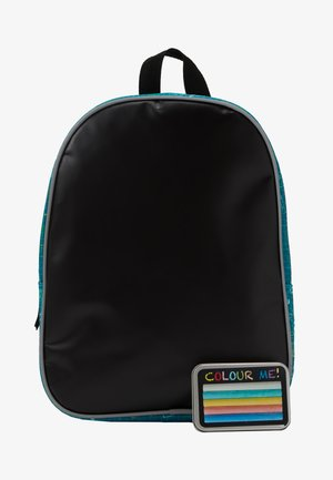 FABRIZIO KIDS DRAW YOURSELF BACKPACK WITH CRAYON PANEL - Batoh - teal