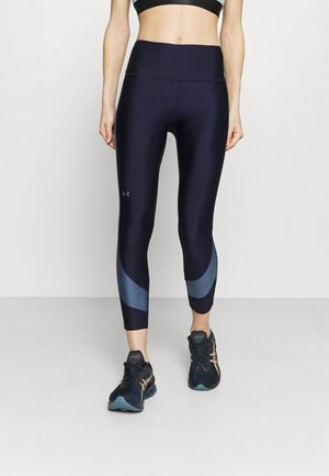 TAPED ANKLE LEG - Tights - midnight navy