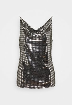 VMCHARLI SINGLET  - Top - black/silver
