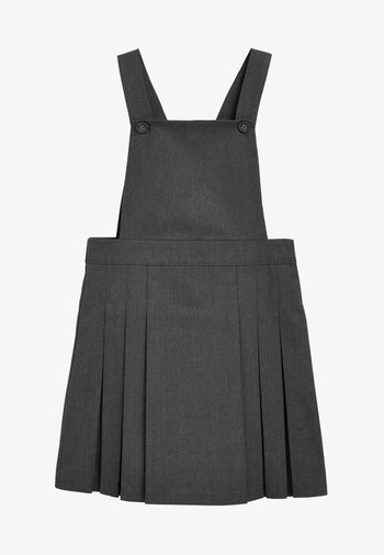 TABARD PINAFORE - Day dress - grey