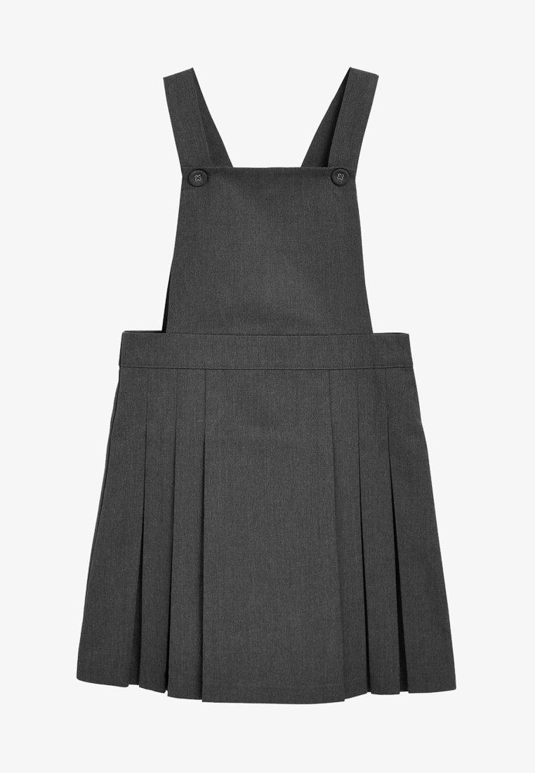 Next - TABARD PINAFORE - Denní šaty - grey