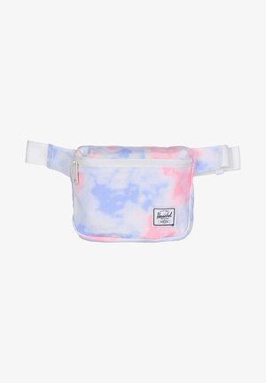 Riñonera - tie dye print/blanc de blanc