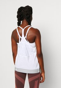 adidas by Stella McCartney - LOGO TANK - Top - white - 2