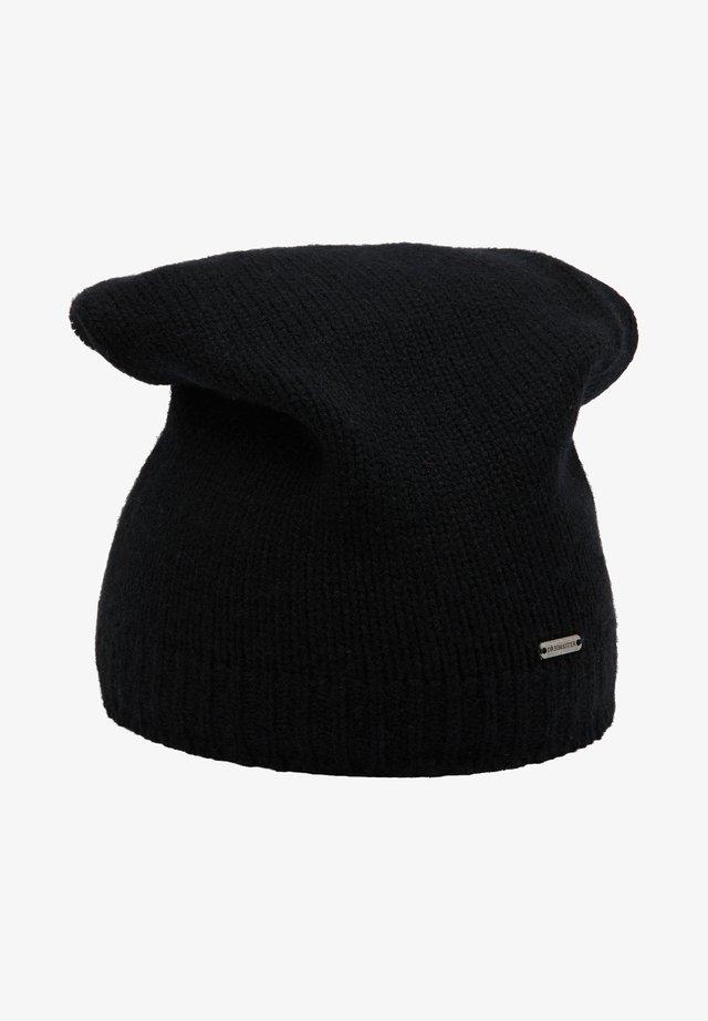 Čepice - schwarz