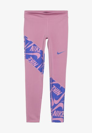 TROPHY - Legginsy - magic flamingo/hyper blue