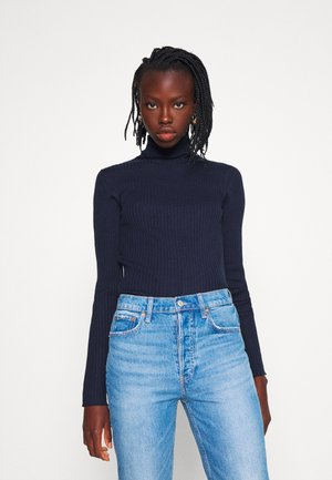 SLFCOSTA ROLLNECK TALL - Jumper - maritime blue