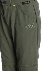 Jack Wolfskin - SAFARI ZIP OFF PANTS 2-IN-1 - Outdoor trousers - woodland green - 3