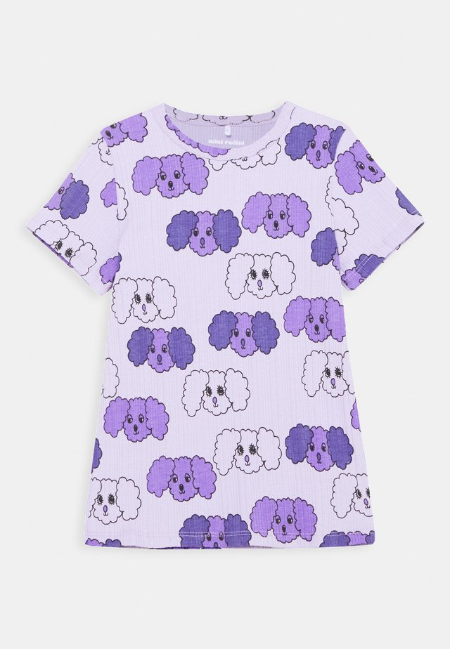 FLUFFY DOG UNISEX - Printtipaita - purple