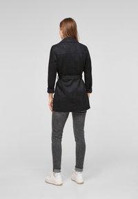 QS by s.Oliver - Short coat - black - 2