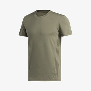 AEROREADY TRAINING SLIM SHORT SLEEVE TEE - T-shirt med print - green