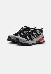 Salomon - SHOES X ULTRA ADV UNISEX - Sneakers basse - black/silver metallic - 1