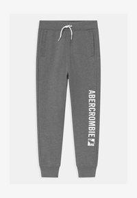 Abercrombie & Fitch - LOGO - Verryttelyhousut - grey - 0