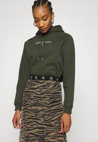 Calvin Klein Jeans - Maxi skirt - irish cream/black - 3