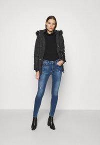 Dorothy Perkins - SHORT LUXE - Winter coat - black - 1