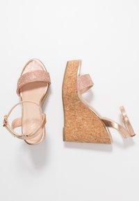 Wallis - SHAYLA - Sandalen met hoge hak - rose gold - 3