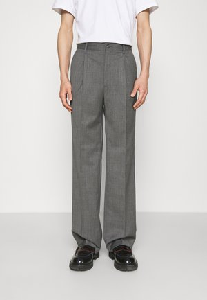SUIT PANTS - Kalhoty - grey wool