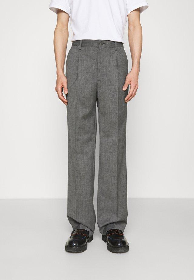 SUIT PANTS - Pantalon classique - grey wool